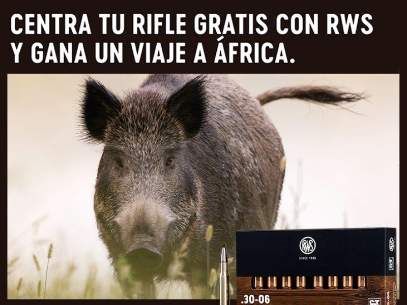 Centra tu rifle gratis con RWS